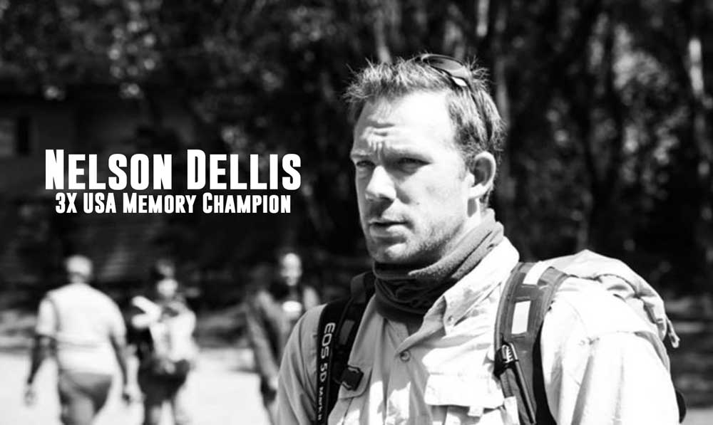 Nelson Dellis, USA Memory Champion