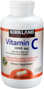 Kirkland's Vitamin C (1000mg) does the trick