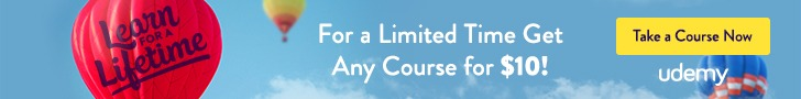 This episode is brought to you by Udemy. Take any of our hand-picked courses for as little as $10 today with this special coupon code link.