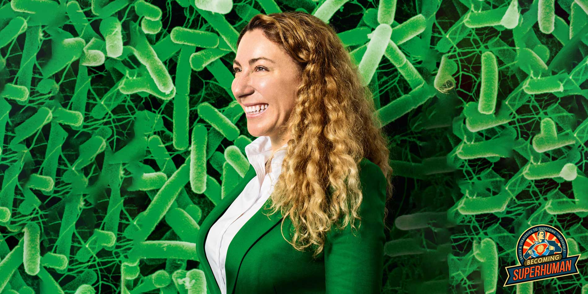Jessica Richman is the CEO of uBiome, a company pioneering the way in at-home micro biome testing.