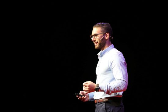 Speaking in front of 2800 people at TEDx, I realized how far my people skills and confidence had come along.