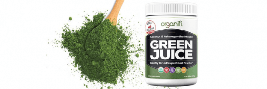 "This episode is brought to you by Organifi. Save 20% on their highly-recommended green juice products with coupon code ""superhuman."""