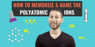 Memorizing the polyatomic ions, or any other chemical formula, is hard. But, with the right system, you can learn how to memorize them in a lasting way.