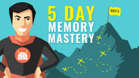 5 Day Memory Mastery Challenge Banner