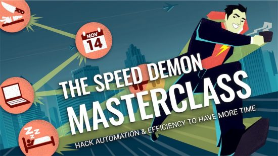 This episode is brought to you by my premium online training - The Become a Speed Demon Master Class. To learn more and save $25, simply click the banner above!