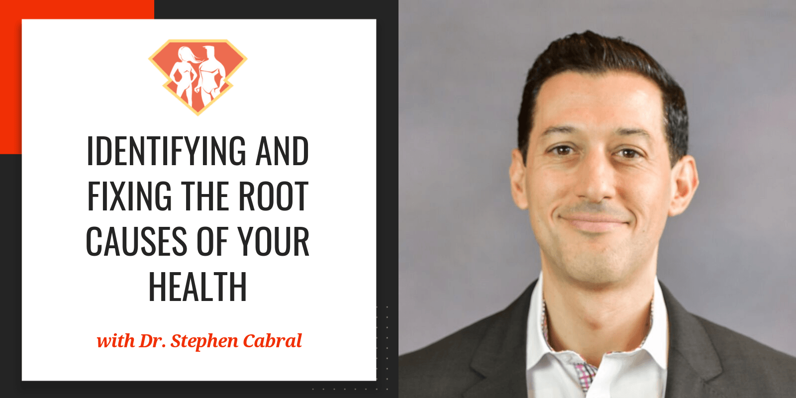 In this episode with Dr. Stephen Cabral, we talk on identifying the foundations of our health, and how a combination of medical fields holds the solutions.
